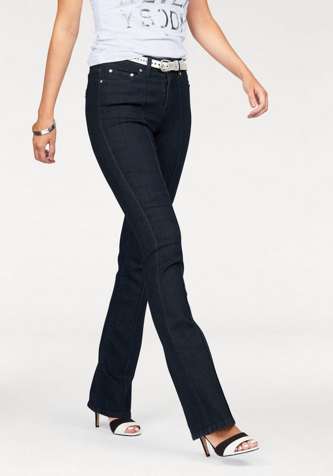 """Bruno Banani Bootcut-Jeans """"Baby-Boot"""" in rinsed"""