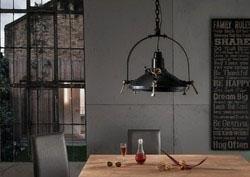 Sit Hänge-Strahler 1 flammig, ohne Leuchtmittel in Metall mit Bronze-Finish antik