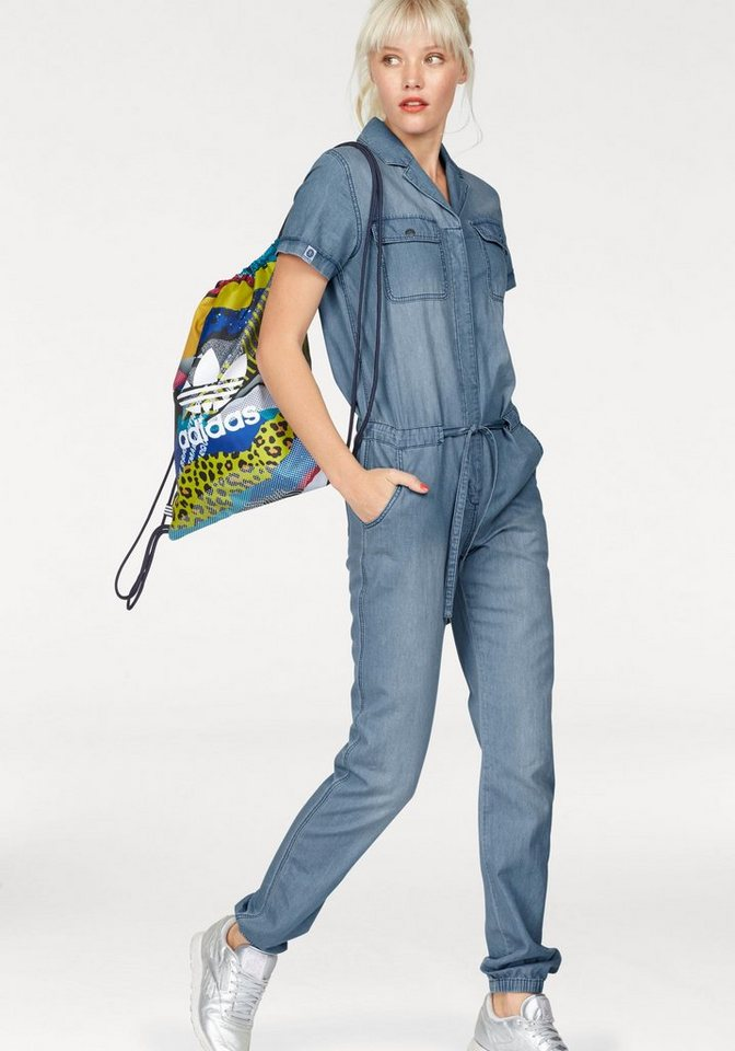 KangaROOS Overall in cooler Denim-Optik in denim-blau