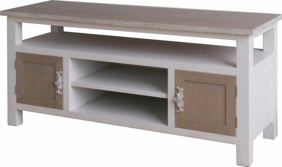 SIT Lowboard »Forrest«, Breite 120 cm in weiß/hellbraun