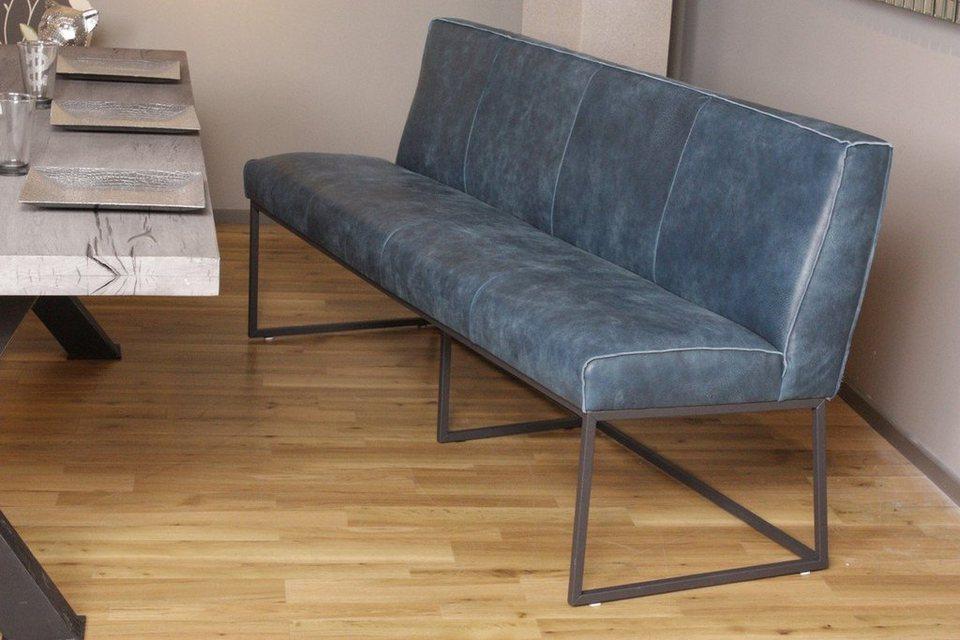 kasper wohndesign sitzbank leder africa baltico lena online kaufen otto. Black Bedroom Furniture Sets. Home Design Ideas