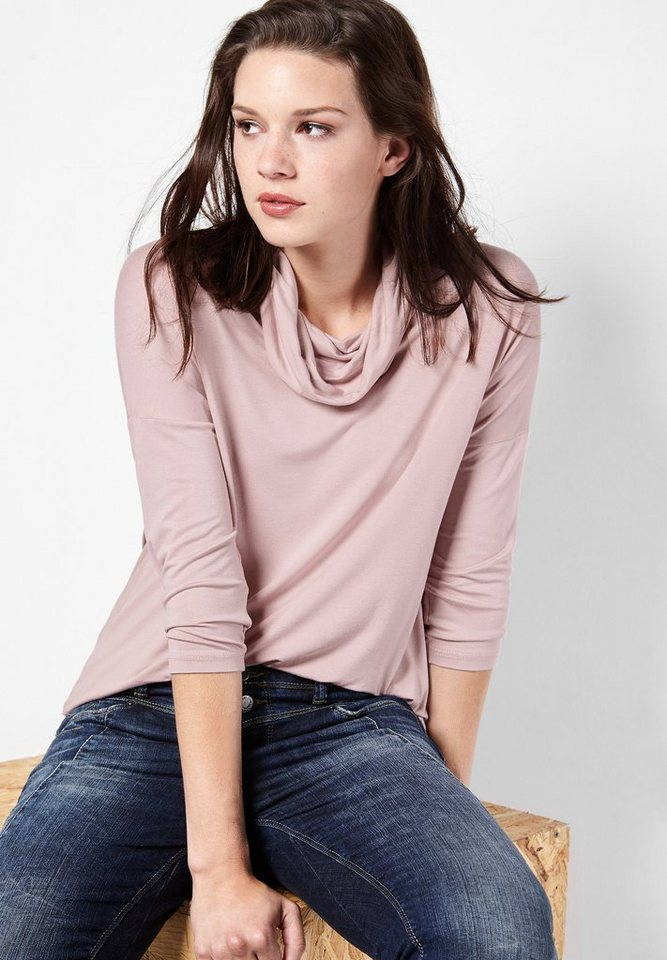 Street One Shirt mit Rollkragen Halina in tender rose