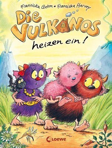 Gebundenes Buch »Die Vulkanos heizen ein! / Vulkanos Bd.6«