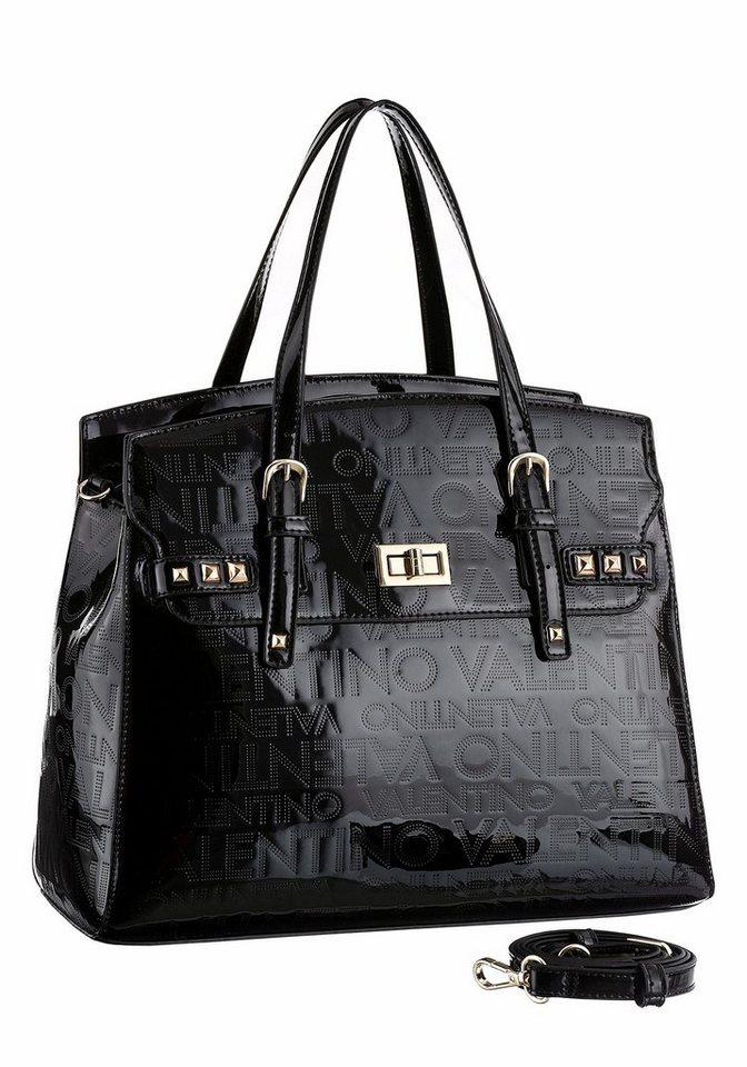Valentino handbags Henkeltasche in schwarz