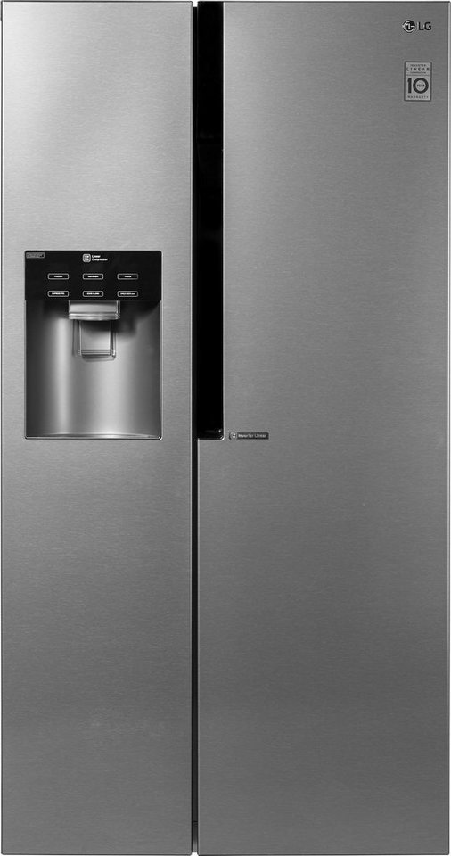 LG Side-by-Side GSL361ICEZ, A++, 179 cm hoch, NoFrost online ...