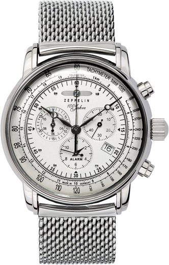 ZEPPELIN Chronograph »100 Jahre Zeppelin, 7680M-1«, Made in Germany