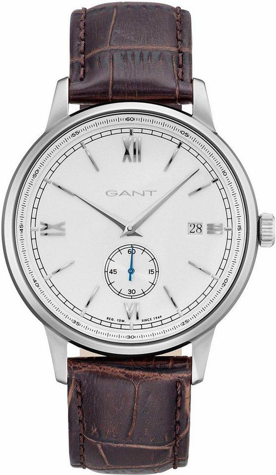 Gant Quarzuhr »FREEPORT, GT023001« mit kleiner Sekunde in braun
