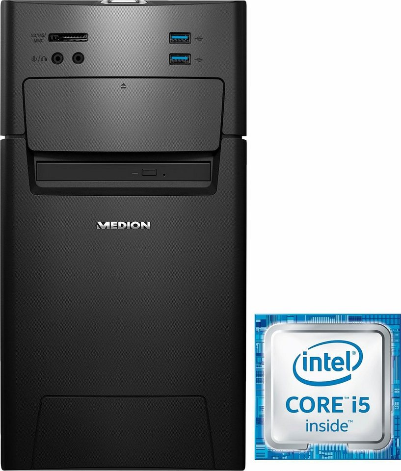 Medion® P5378 I Gaming-PC, Intel® Core™ i5, 8192 MB DDR4, 2128 GB Speicher