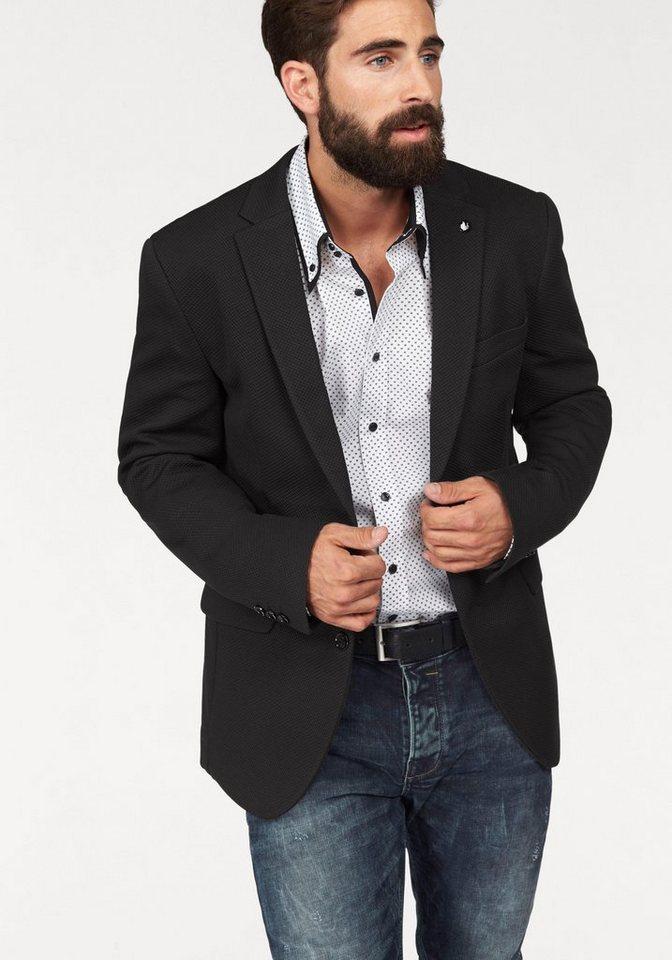 Wer es leger liebt, wählt ein Sakko im Casual-Look und kombiniert dazu Jeans und Slipper. Die kurzen Jackenlängen, das 2-Knopf-Design und die schmalen Revers kombiniert der modebewusste Mann nicht nur mit Stoffhose, Hemd und Krawatte.