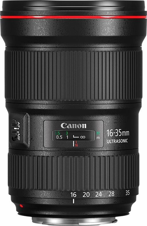 Canon EF 16-35mm 1:2,8L III USM Ultraweitwinkel Objektiv in schwarz