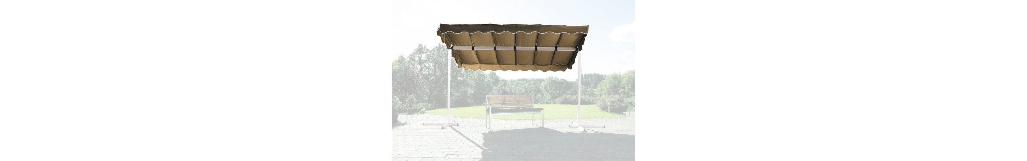 Ersatzdach »Raffmarkise Dubai, taupe«