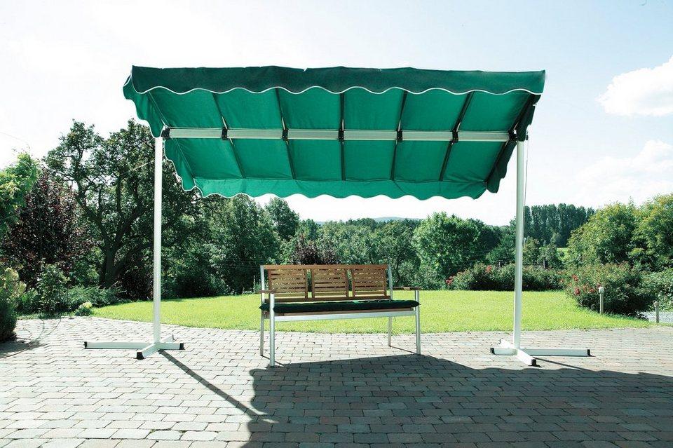 Terrassendach/ Standmarkise »Dubai, grün« 375x250cm in grün