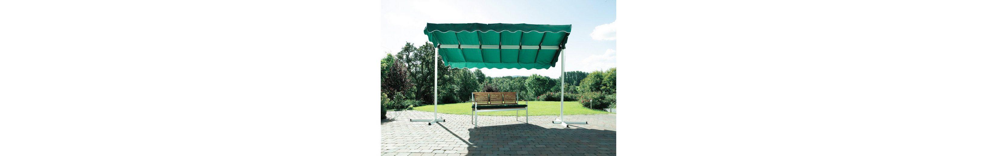 Terrassendach/ Standmarkise »Dubai, grün« 375x250cm