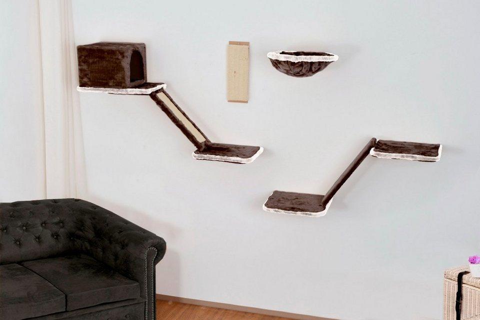 katzen kletterwand 8 tlg online kaufen otto. Black Bedroom Furniture Sets. Home Design Ideas
