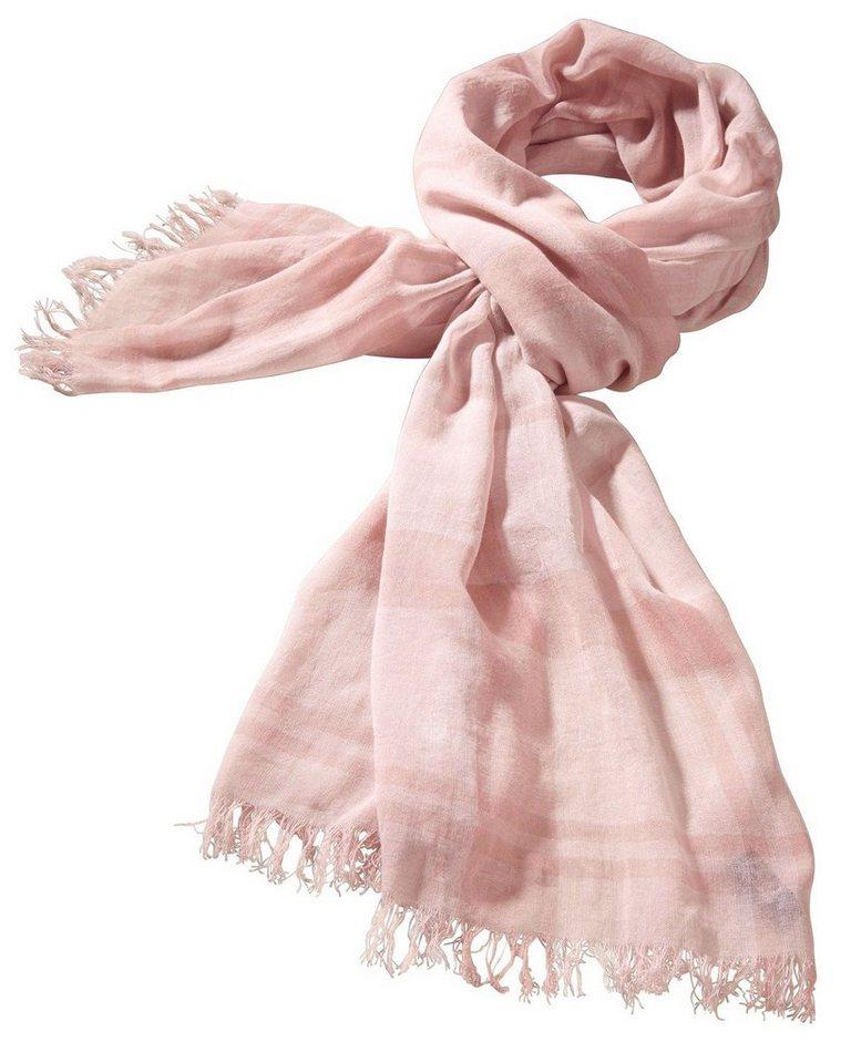 Barbour Schal Summer Dress Tartan in Rosé