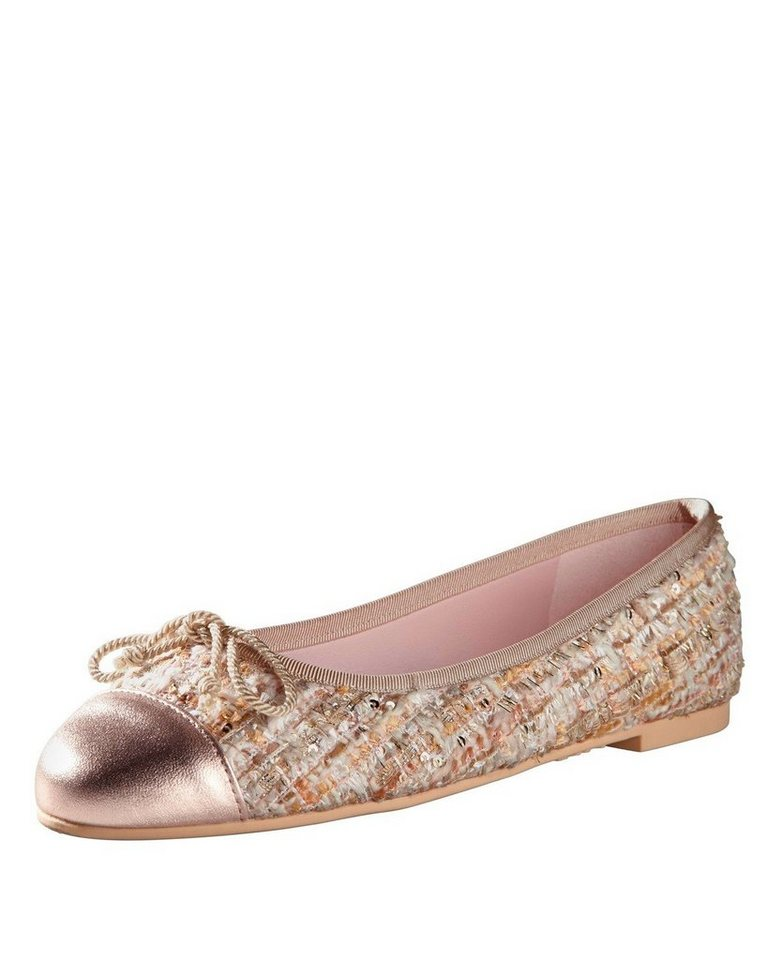 Pretty Ballerinas Ballerinas in Rosa Metallic