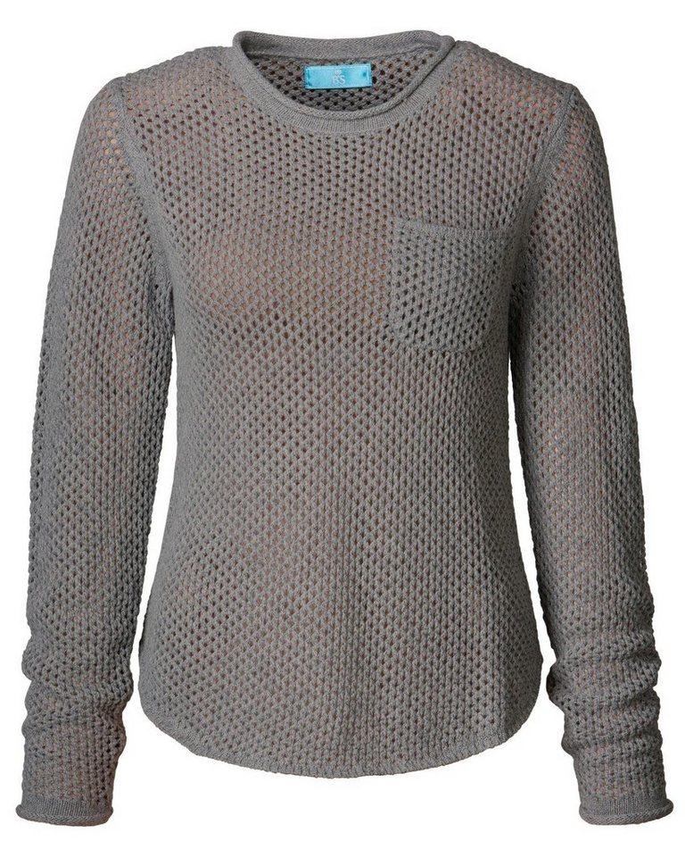 Brigitte von Schönfels Pullover in Grau-Melange