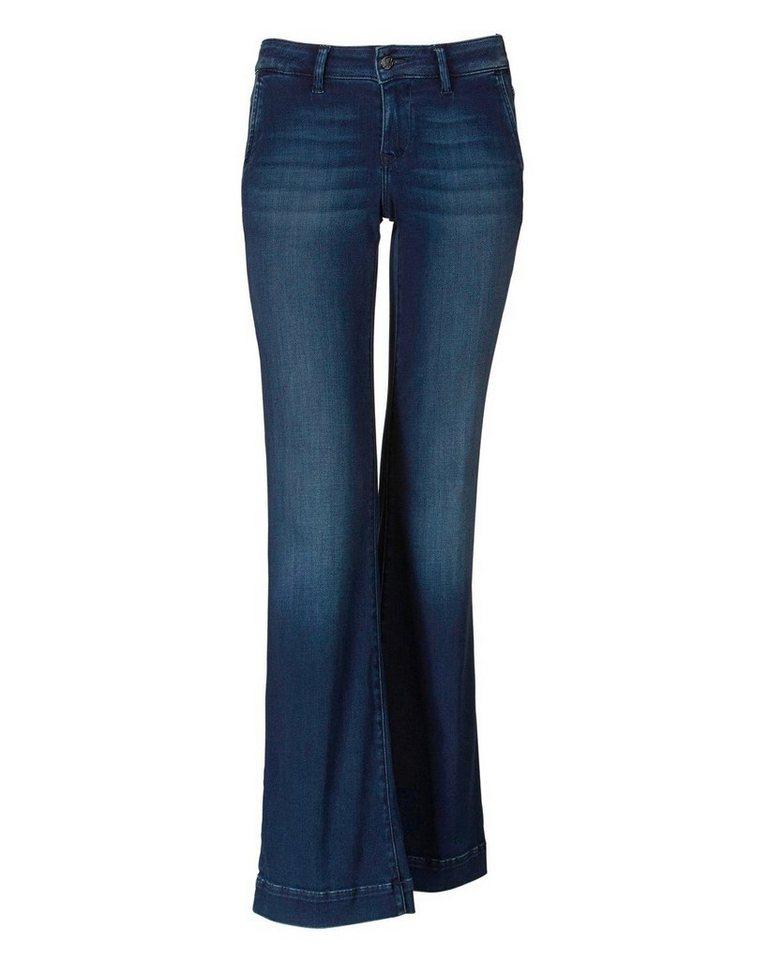 Mavi Uptown Jeans in Mid Blue