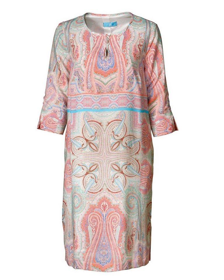 Brigitte von Schönfels 3/4-Arm-Kleid in Apricot