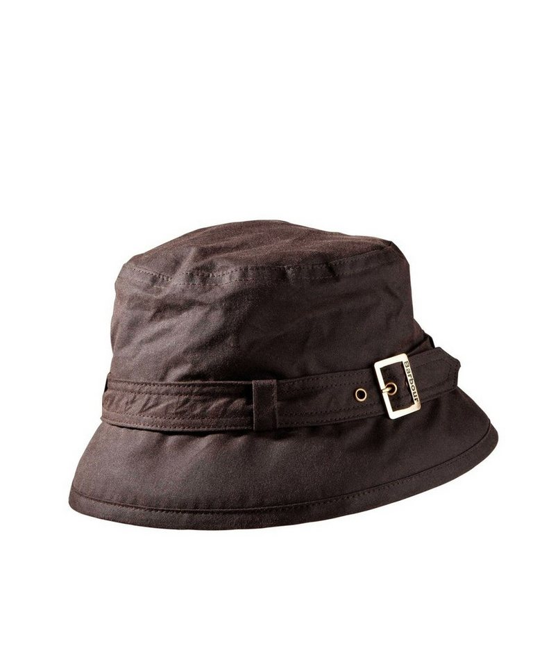 Barbour Hut Kelso Wax Belted in Braun