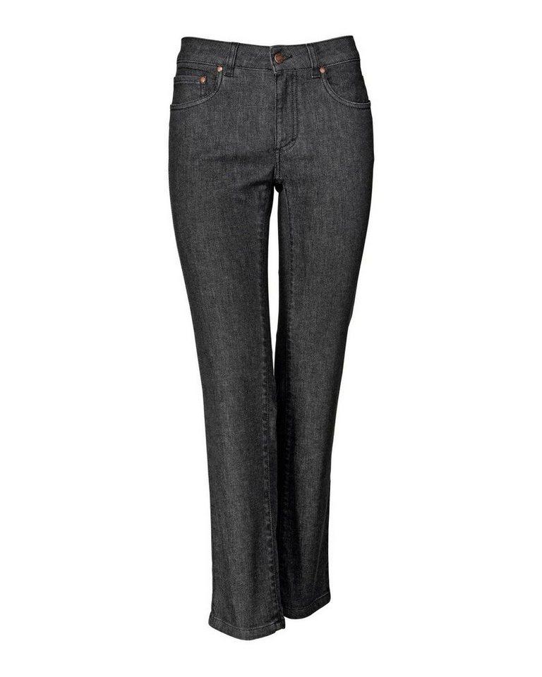 Brigitte von Schönfels 7/8-Jeans in Schwarz