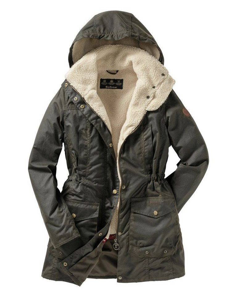 Barbour Wachsparka Bleaklow in Oliv