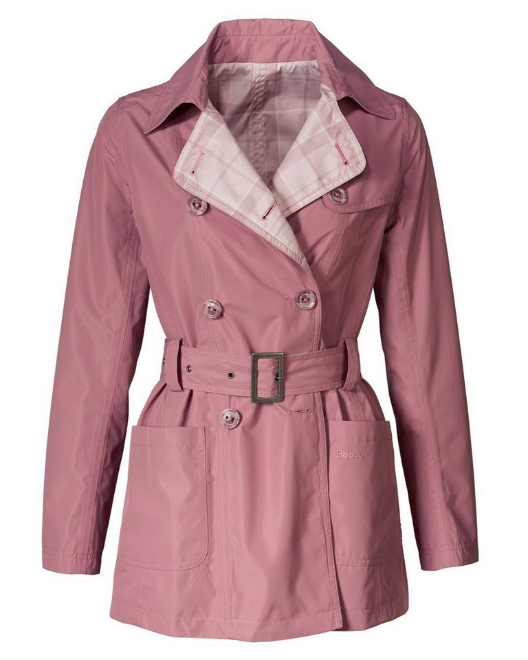 Barbour Trench Ewan in Rosé