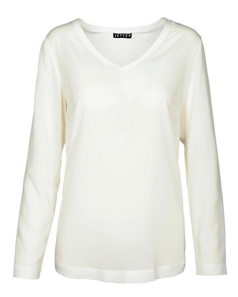 JETTE Blusenshirt in Weiß