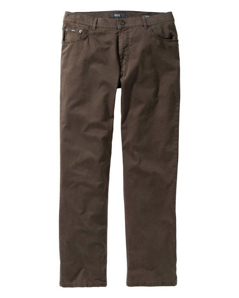 Brax 5-Pocket-Hose Cooper Fancy in Khaki