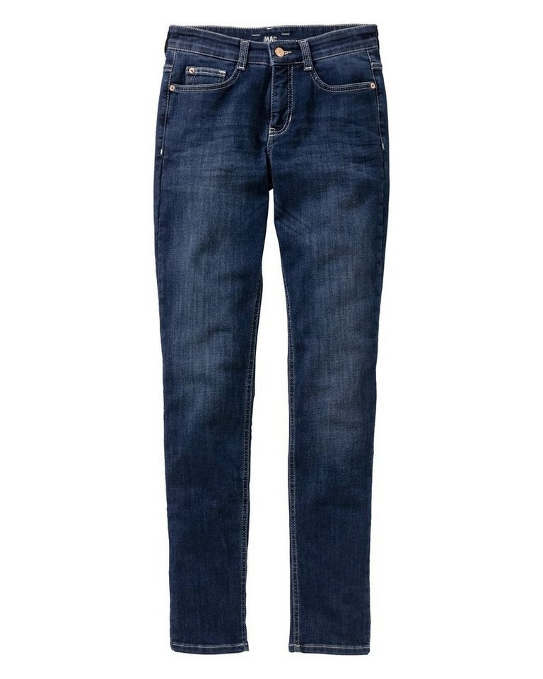 MAC Jeans Angela Pipe in Dunkelblau