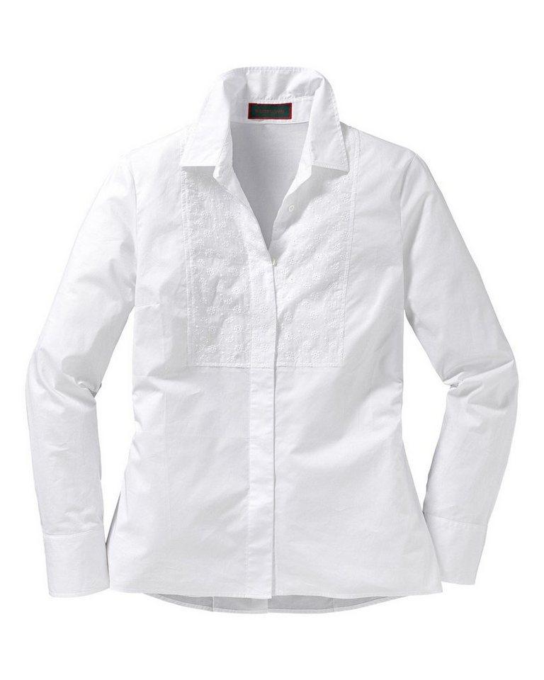 Reitmayer Hemdbluse in Weiß