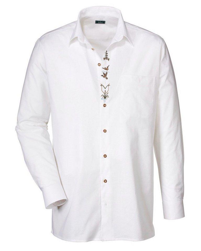 Luis Steindl Hemd in Weiß