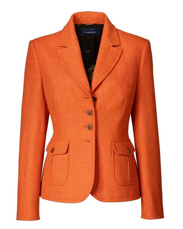 Highmoor Tweedblazer in Rost-Melange