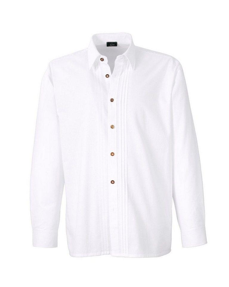 Luis Steindl Trachtenhemd in Weiß