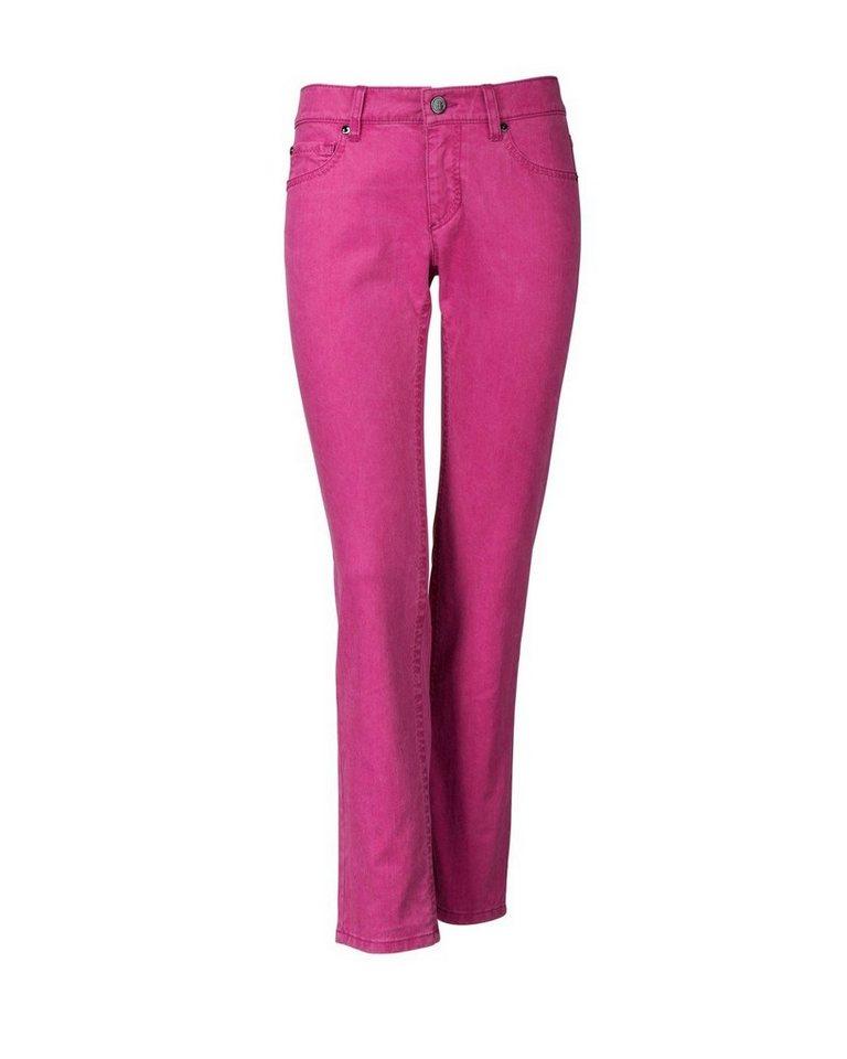 Bogner Jeans in Brombeer