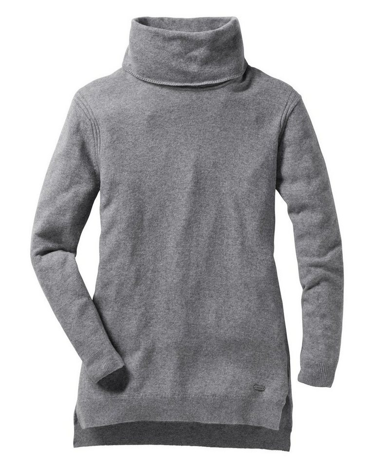 Barbour Pullover Saddelworth in Grau