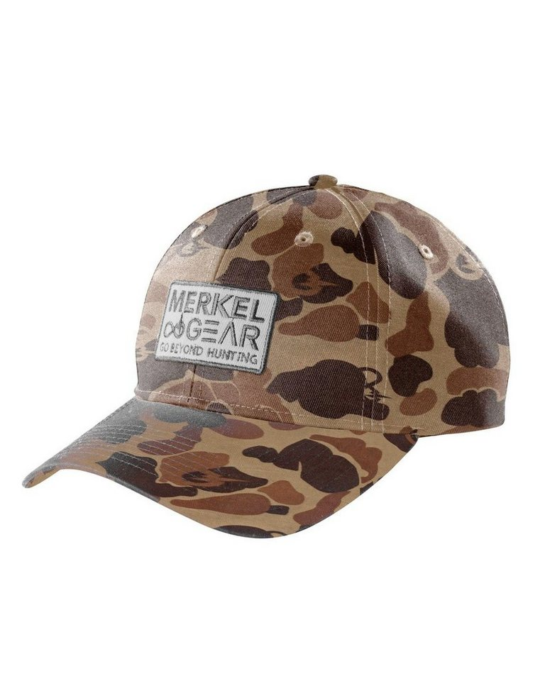 Merkel Gear Camo Mesh Cap in camouflage