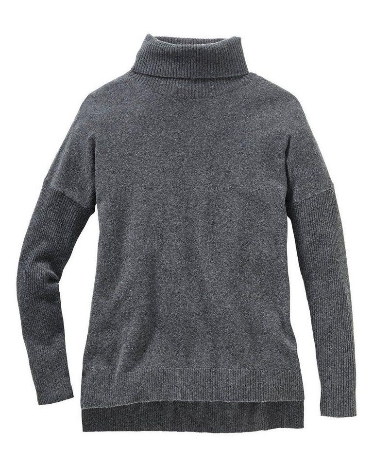 Brigitte von Schönfels Pullover in Grau-Meliert