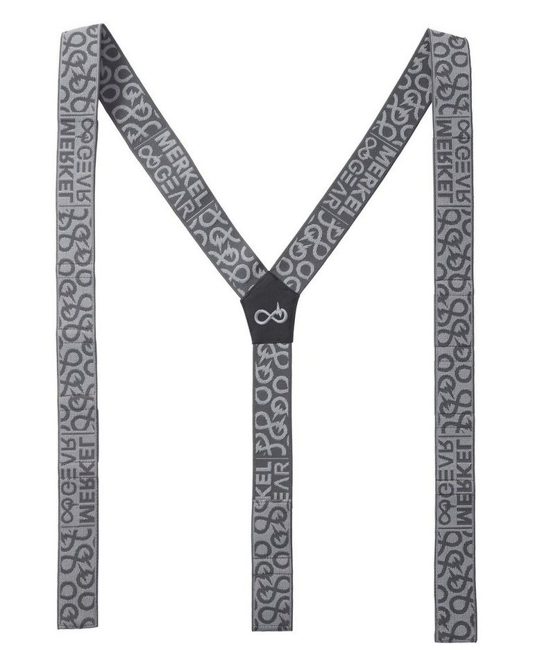 Merkel Gear Suspenders in grau