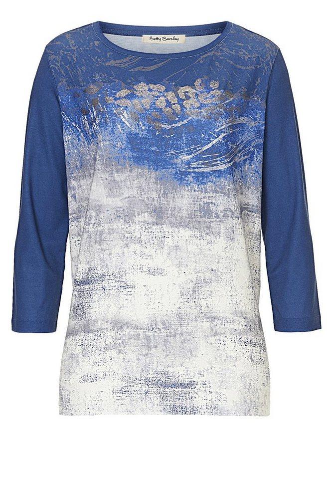Betty Barclay Shirt in Blau/Grau - Bunt
