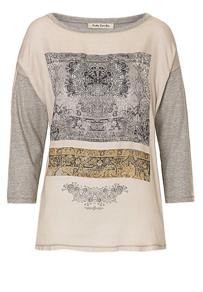 Betty Barclay Shirt in Grau/Beige - Bunt