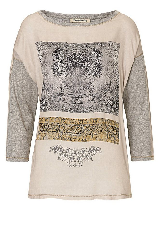 Betty Barclay Shirt in Grau/Beige - Grau