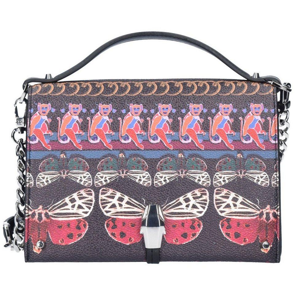 Roberto Cavalli Class Crazy Print Boho Dream Mini Bag Umhängetasche 18 cm in multicolor