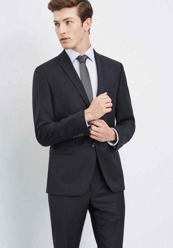 PIERRE CARDIN Anzug »Andre Dupont« in schwarz
