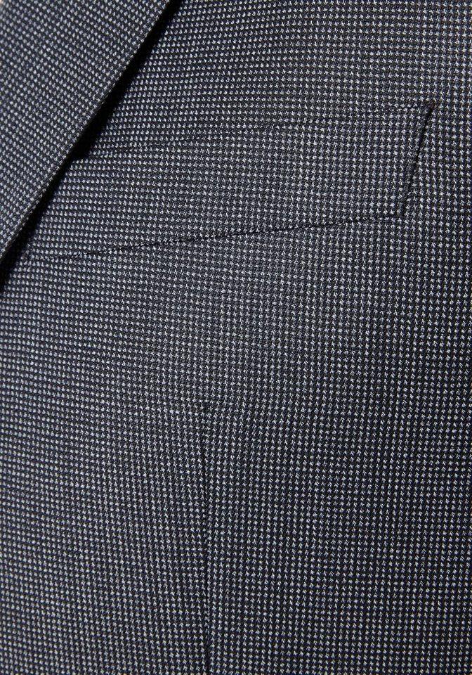 PIERRE CARDIN Anzug strukturiert »Brice Damien« in schwarz