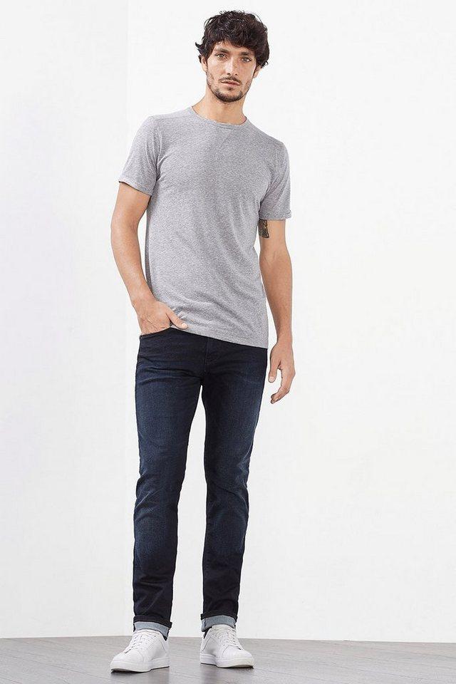 ESPRIT CASUAL Stretch-Jeans aus Dynamic Denim in BLUE DARK WASHED
