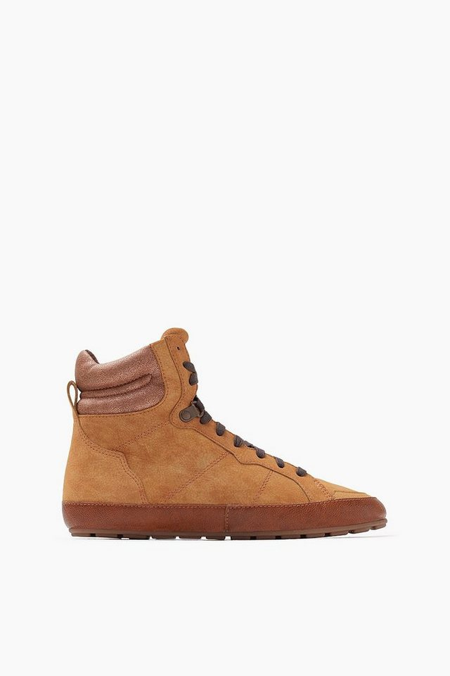 ESPRIT CASUAL High Top Sneaker Bootie in CARAMEL