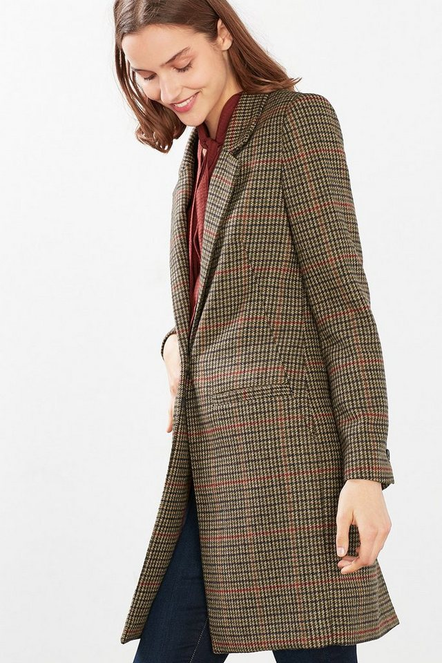 ESPRIT COLLECTION Indoor Tweed Blazer-Mantel in SKIN BEIGE