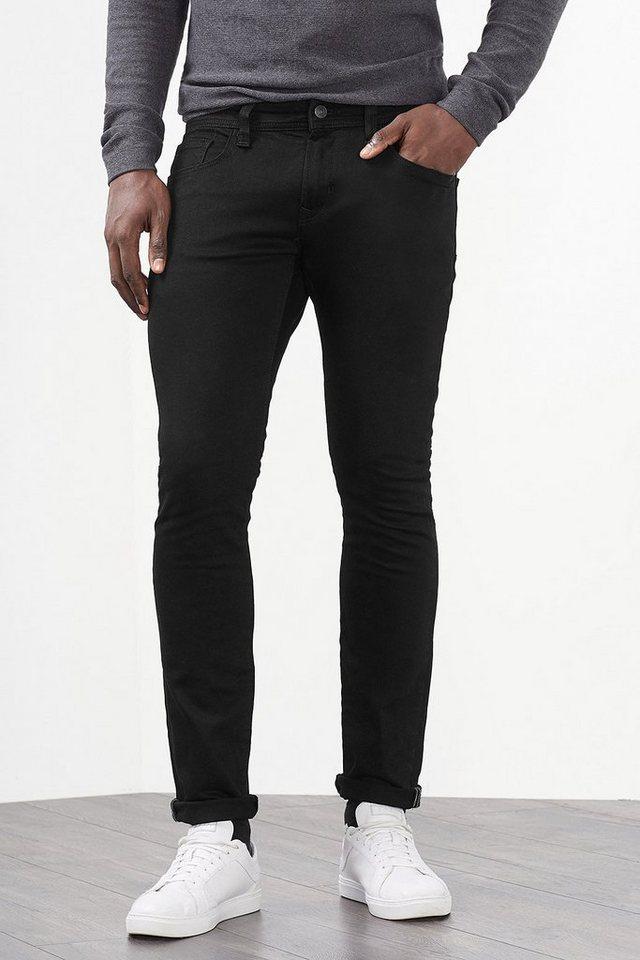 EDC Black 5-Pocket Stretch-Jeans in BLACK RINSE