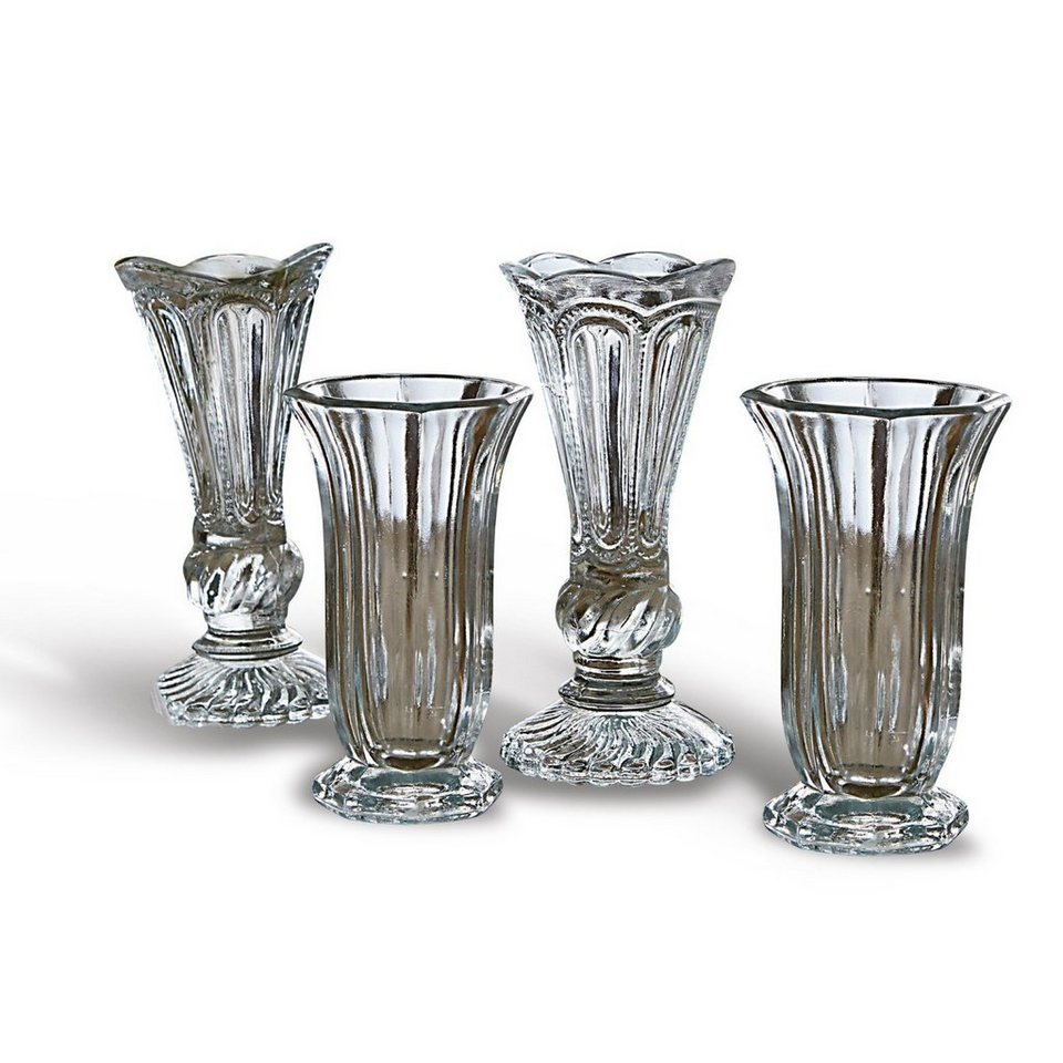 Loberon Vase 4er Set »Filla« in klar